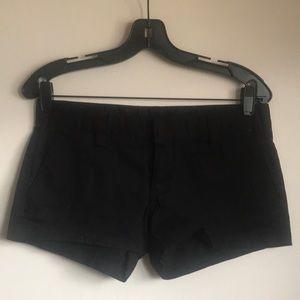 Hurley Size 3 Black Shorts